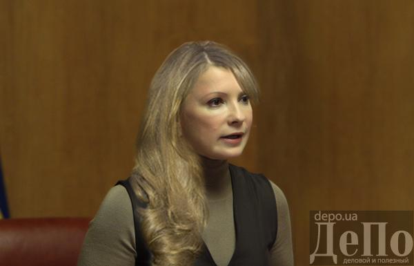Юлія Тимошенко розпущене волосся