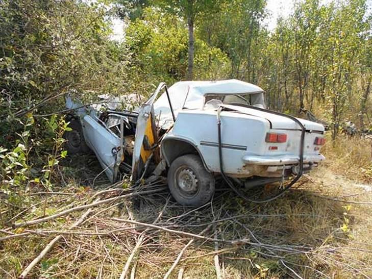 На Вінниччині водій легковика розбився насмерть - фото 1