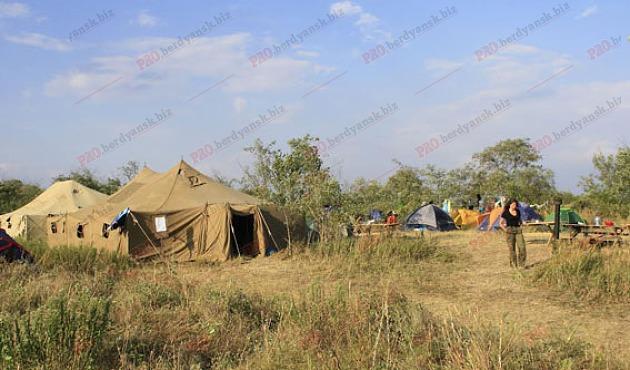 На Запоріжжі організували військово-патріотичний табір для дітей зі всієї України - фото 2