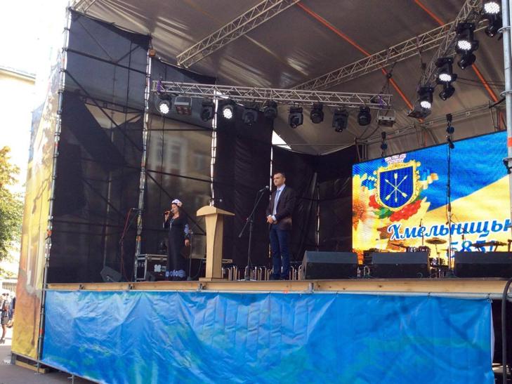 У Хмельницькому чи не вперше прозвучав гімн Євросоюзу - фото 6