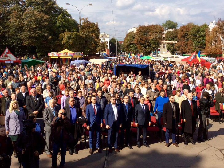 У Хмельницькому чи не вперше прозвучав гімн Євросоюзу - фото 4