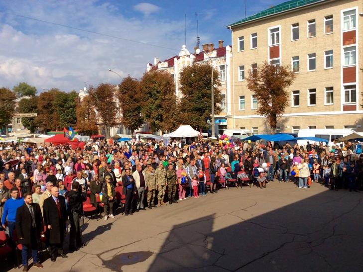 У Хмельницькому чи не вперше прозвучав гімн Євросоюзу - фото 3