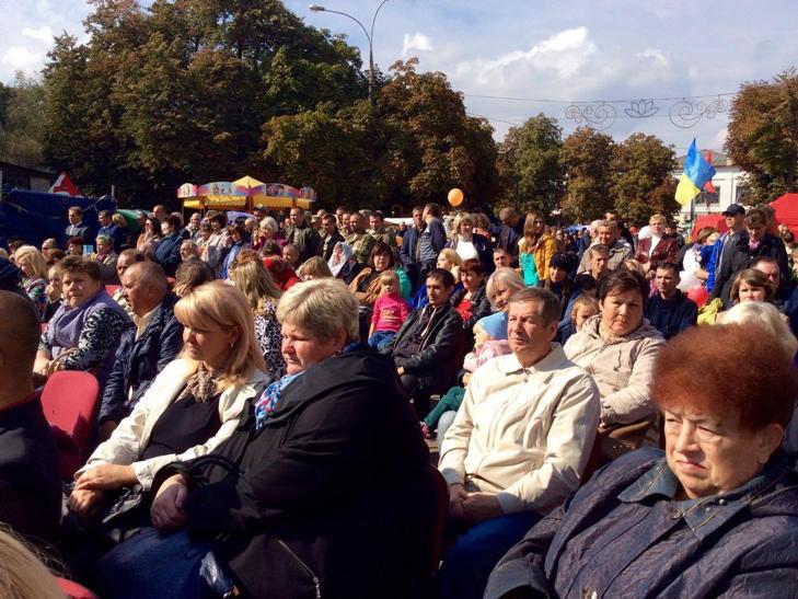 У Хмельницькому чи не вперше прозвучав гімн Євросоюзу - фото 2