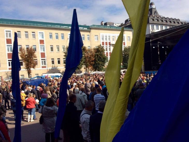 У Хмельницькому чи не вперше прозвучав гімн Євросоюзу - фото 5