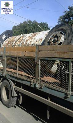 Сумські патрульні затримали вантаж нелегального металобрухту - фото 1