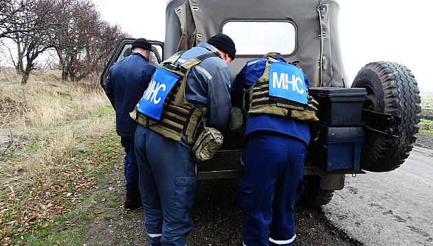 Неподалік бердянського блокпоста знайшли міни - фото 3
