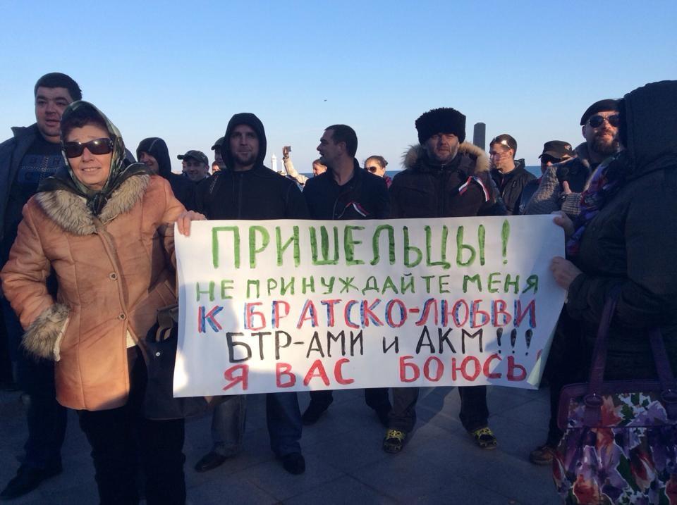 Хроніки окупації Криму: українські військові вже готові стріляти в окупантів - фото 11