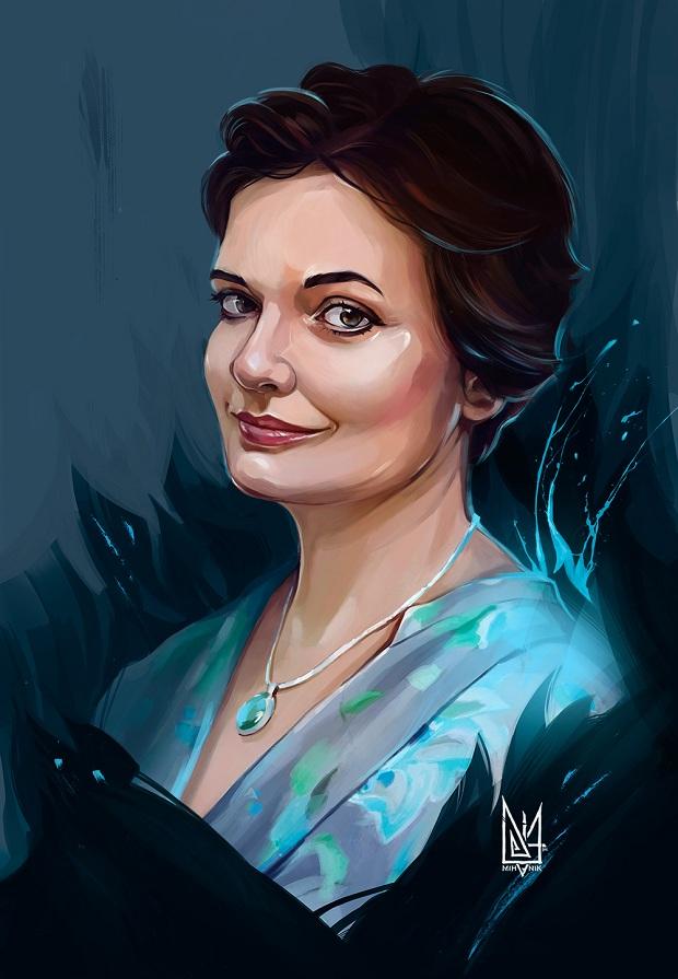 Запорізький художник створює галерею портретів українських волонтерів - фото 2