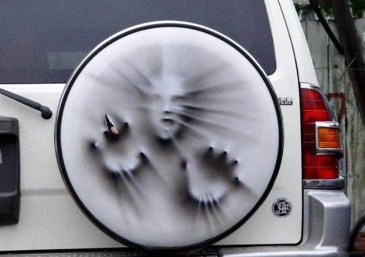 Креатив на колесах: 45 прикладів цікавої аерографіки - фото 6