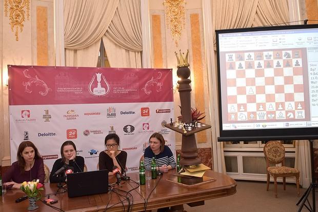 Як у Львові пройшла п'ята партія матчу за світову шахову корону - фото 2