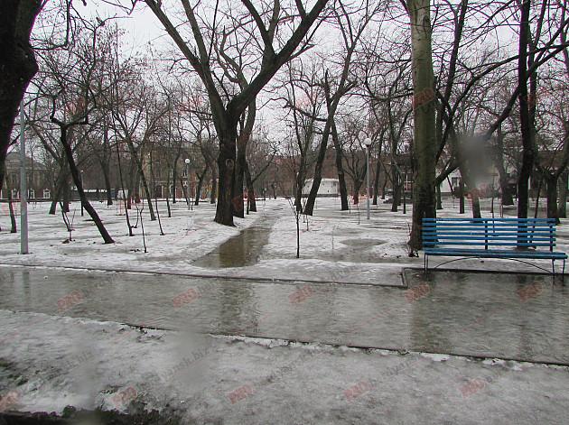 Бердянські комунальники проігнорували прихід зими - фото 1