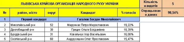 Хто став депутатами нової Львівської облради (СПИСОК) - фото 7
