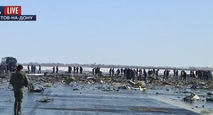 """На місці катастрофи """"Боїнга"""" у Ростові завершили пошук тіл - фото 1"""