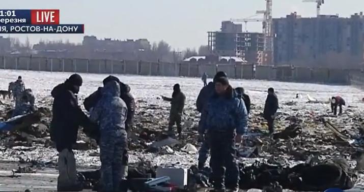 """На місці катастрофи """"Боїнга"""" у Ростові завершили пошук тіл - фото 2"""