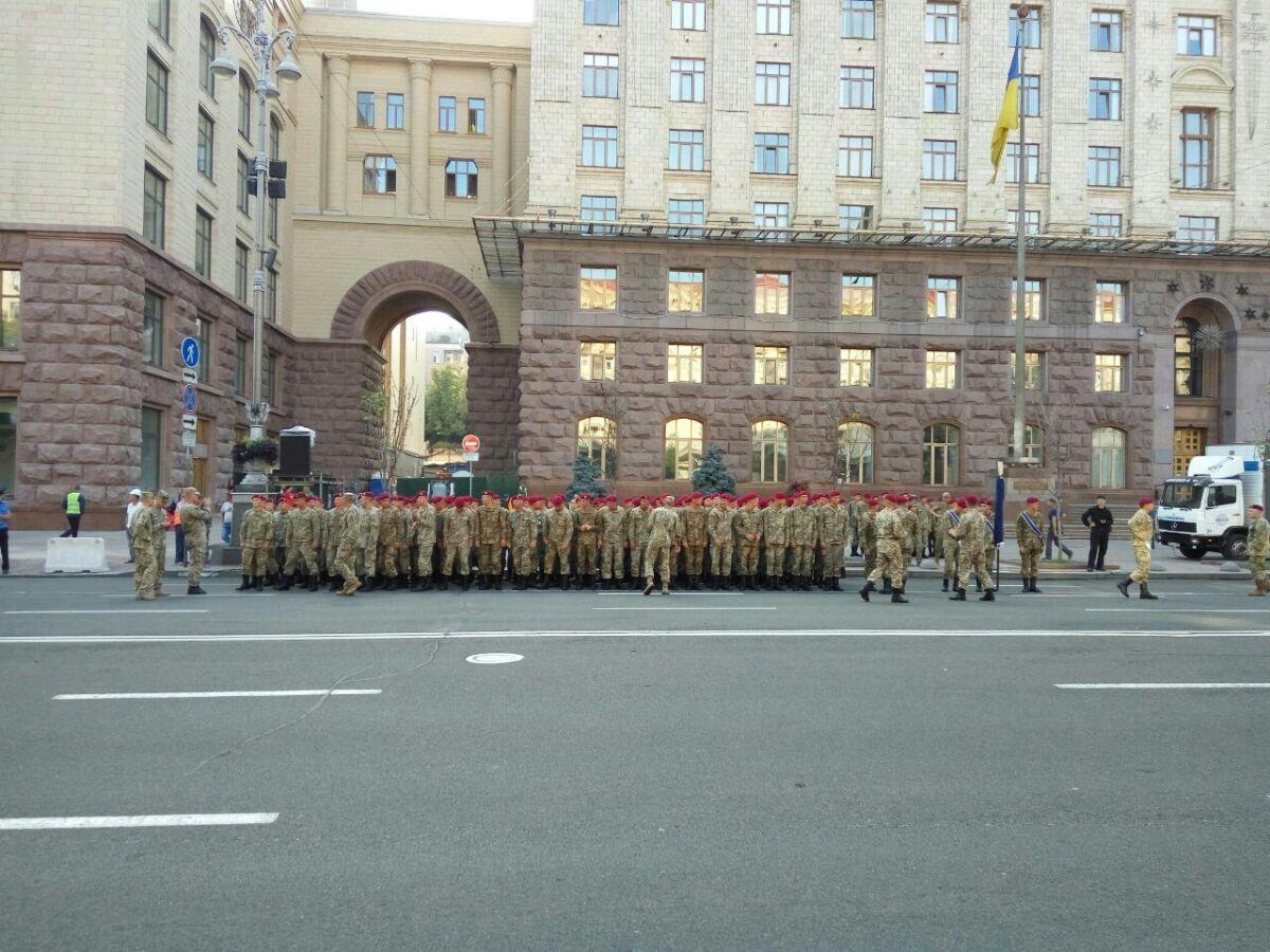 Як на Хрещатику парад репетирують - фото 2
