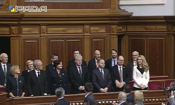 """У Раду з """"ревізією"""" прибули спікери парламентів країн Північної Європи і Балтії (ФОТО) - фото 1"""