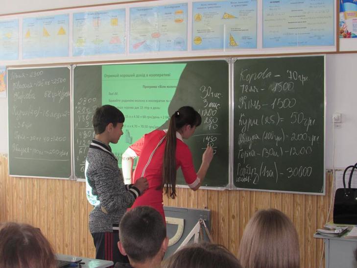 На Хмельниччині школярі вивчають кооперативну математику - фото 3