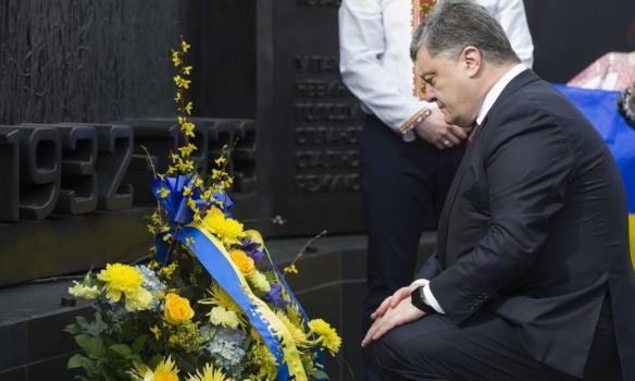 Порошенко у Вашингтоні відвідав Меморіал жертвам Голодомору (ФОТО) - фото 1