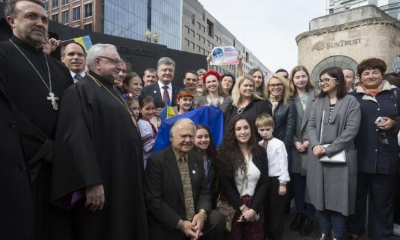 Порошенко у Вашингтоні відвідав Меморіал жертвам Голодомору (ФОТО) - фото 2