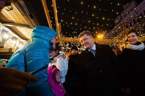 Як Порошенко з родиною на новорічний ярмарок ходили (ФОТО) - фото 5