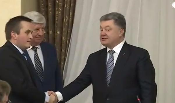 Порошенко та Шокін представили головного антикорупційного прокурора  - фото 1