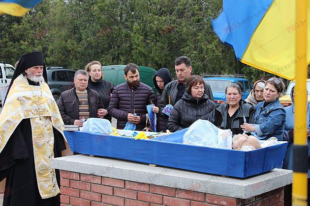 У Бердянську провели в останню путь ветерана ОУН  - фото 1