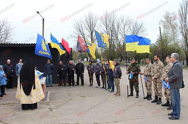 У Бердянську провели в останню путь ветерана ОУН  - фото 2