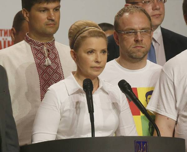 Юлія Тимошенко бабетта зачіска