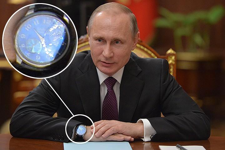 Наручные часы Президента Путина - фото, сколько стоят