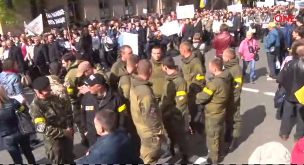 Під Радою пікетують проти генпрокурора Луценка - фото 2