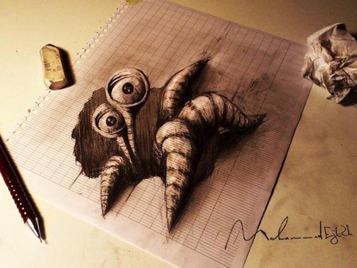 35 неймовірних 3D-малюнків олівцем - фото 33
