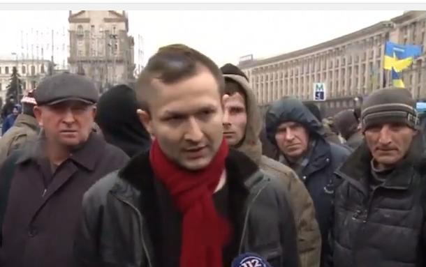 На Майдані сталася сутичка - фото 1