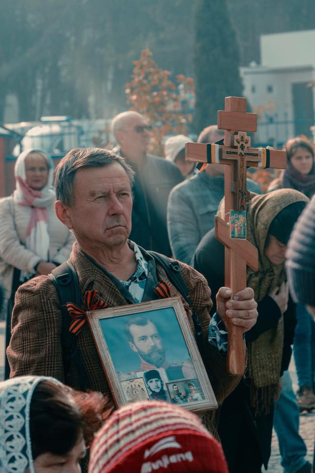 Вілкула нагородили церковним орденом у присутності людей з георгіївськими стрічками - фото 2
