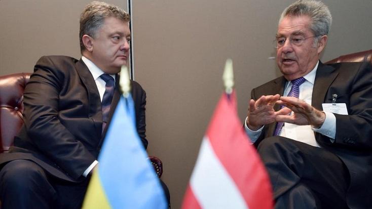 Порошенко зустрівся з президентом Австрії - фото 1