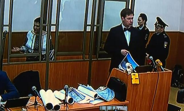 Російський суддя пригрозив вивести Савченко із зали суду - фото 1