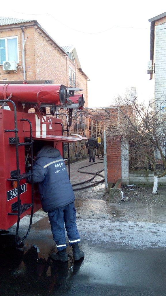 В Бердянську згоріла сауна у приватному будинку  - фото 3
