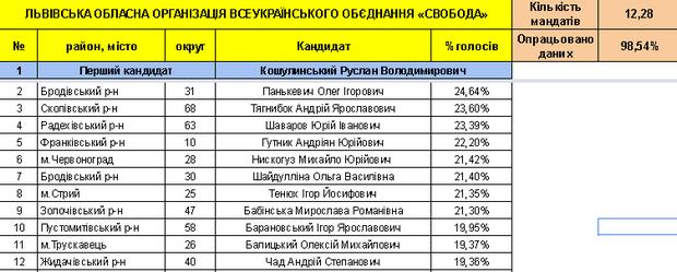 Хто став депутатами нової Львівської облради (СПИСОК) - фото 3