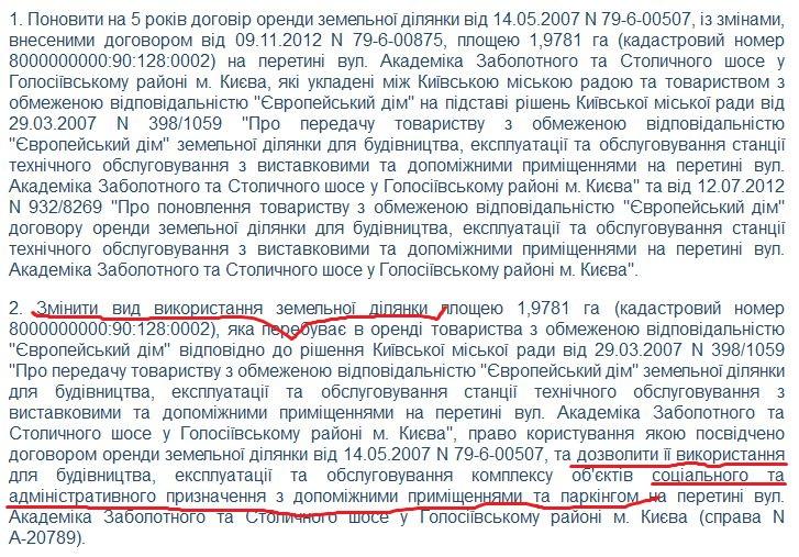 Кононенко орендував землю всередині розв'язки у Києві, де буде будувати офіс замість СТО - фото 3