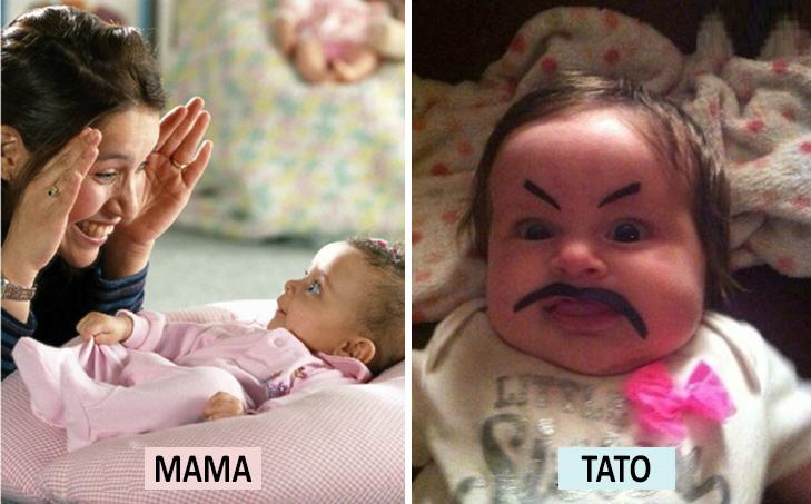 Мама Vs Тато: Як по-різному можна виховувати дитину  - фото 8