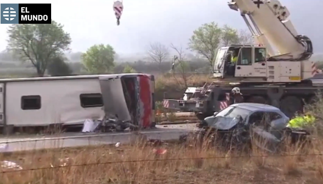 В Іспанії розбився автобус зі студентами. Серед постраждалих є українці - фото 2