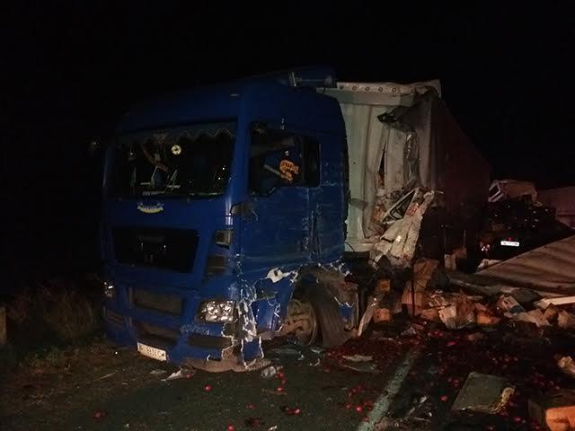 На Миколаївщині водія фури затиснуло внаслідок ДТП