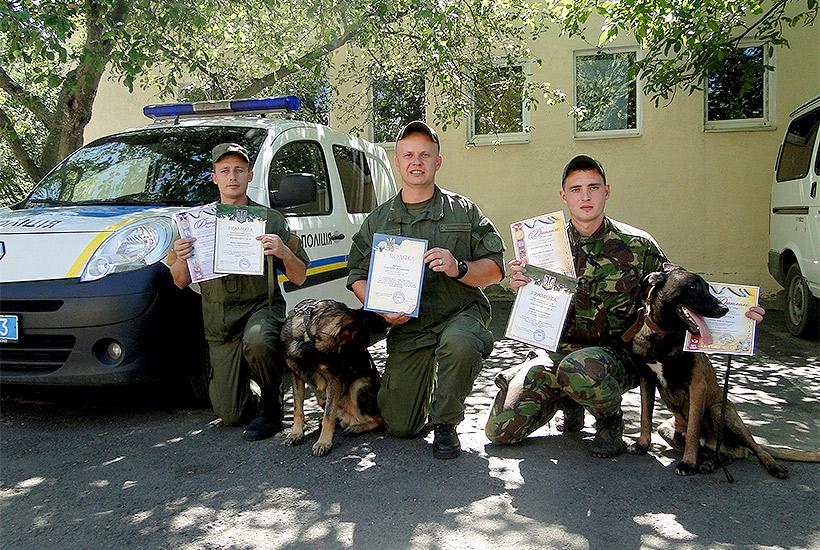 Харківські кінологи-гвардійці обійшли колег з поліції та прикордонної служби  - фото 2