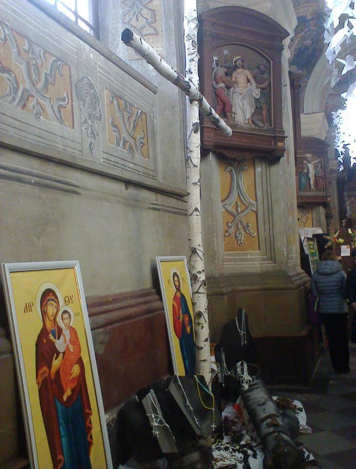 У Львів із зони АТО привезли унікальний хрест - фото 1