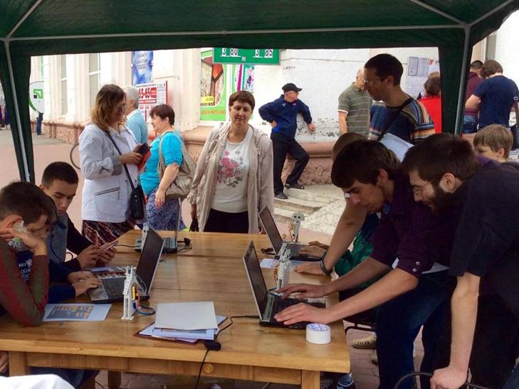 """У центрі Хмельницького триває Всеукраїнський """"Hi-tech picnic"""" - фото 12"""