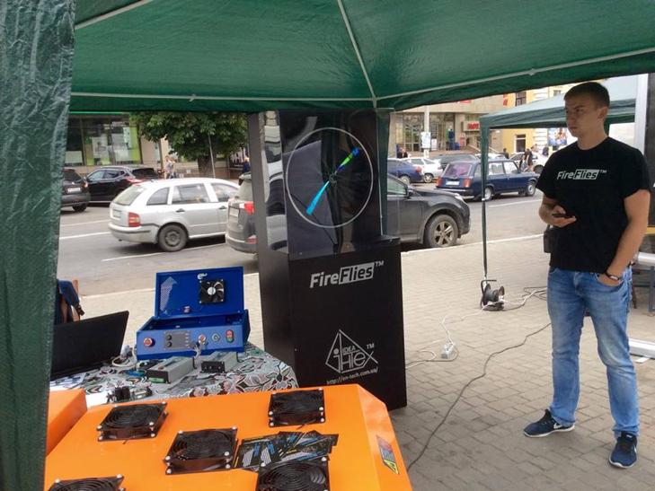"""У центрі Хмельницького триває Всеукраїнський """"Hi-tech picnic"""" - фото 9"""