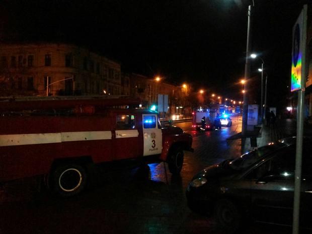 У Львові намагались підпалити ще одне відділення російського банку - фото 1