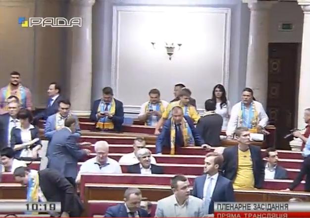 Як Рада підтримує збірну України - фото 1