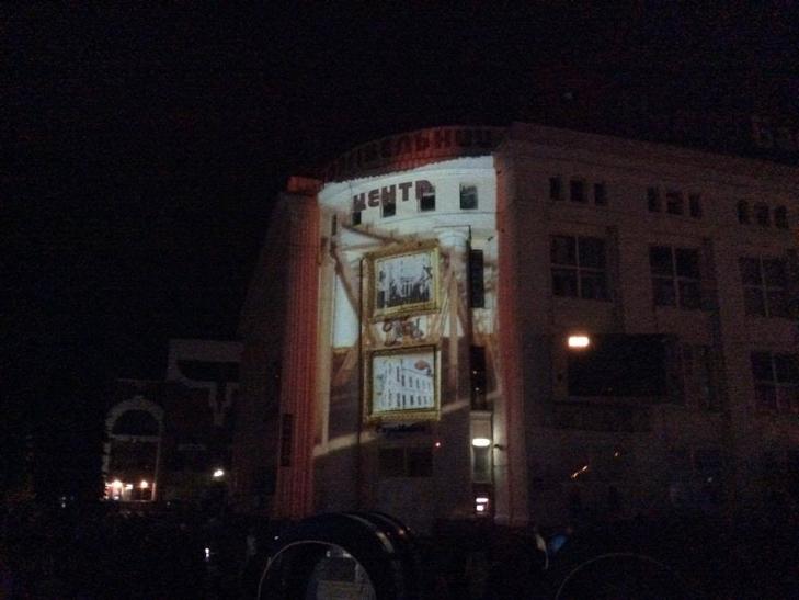 Хмельничан на свято дивували відеомапінгом - фото 4