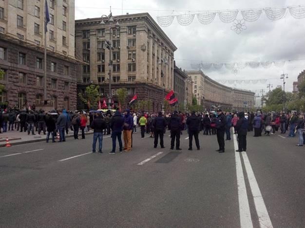 Бійку під Київрадою поліція назвала хуліганством - фото 1