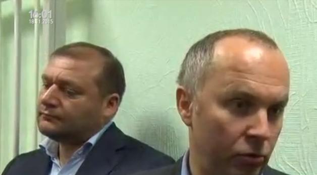 """На суд до Лукаш прийшли її """"друзі"""" Шуфрич і Добкін - фото 1"""